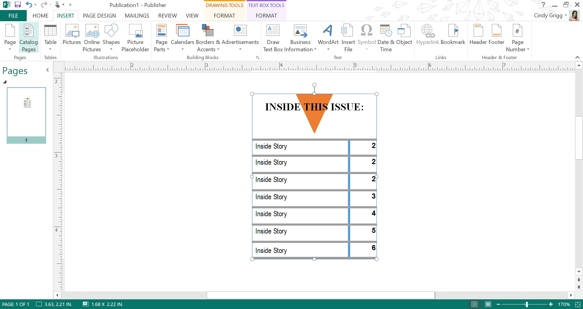 Best Table of Contents Building Blocks and Page Parts for Microsoft Word  and Publisher