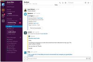 Slack desktop application