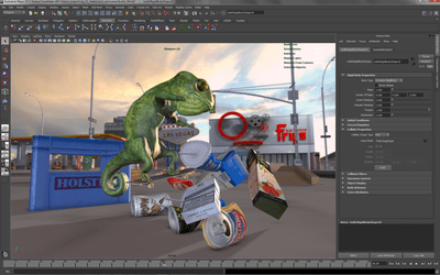 5 Techniques to Speed up Your Modeling in Maya