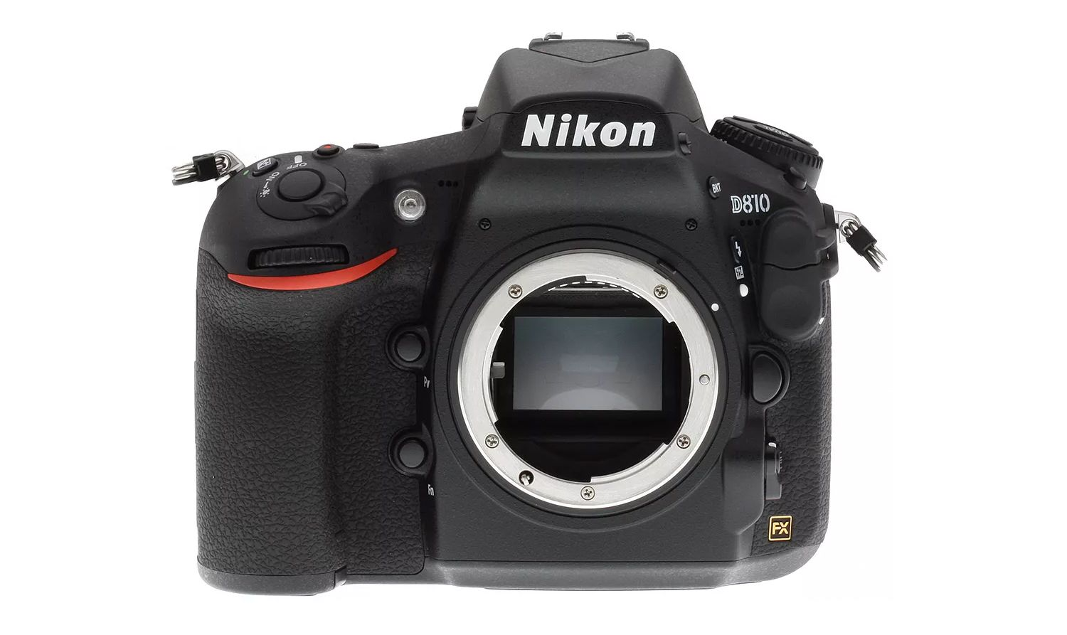 DSLR camera body without a lens attached