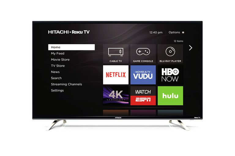 Hitachi 4K Ultra HD Roku TV Example