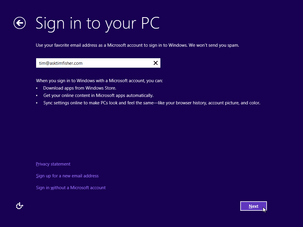how to do a clean install of windows 8.1