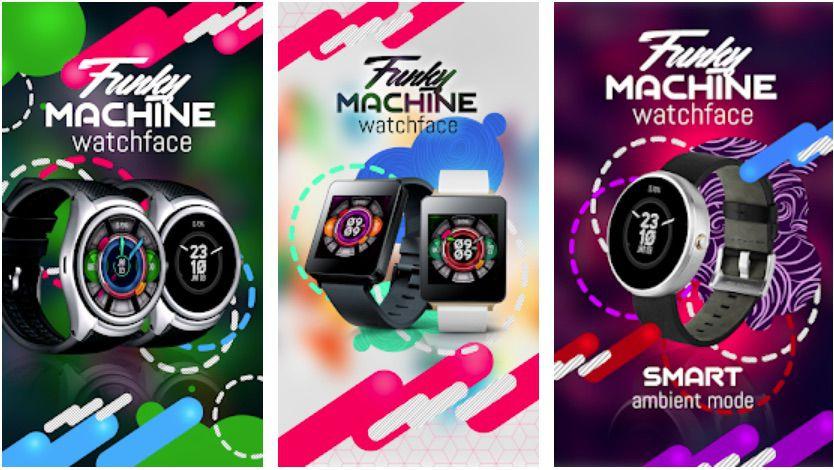 Funky Machine Wear OS watch face