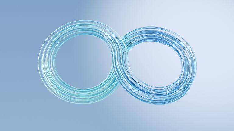 3D Rendering, symbol endlessness