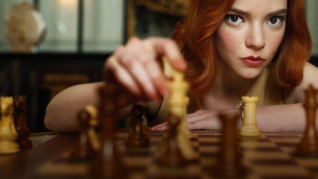 Anya Taylor-Joy in The Queen's Gambit