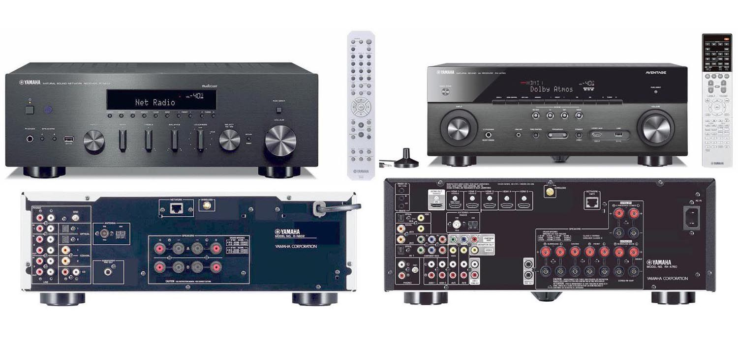 Yamaha R-N602 Stereo Receiver vs RX-A760 HT Receiver