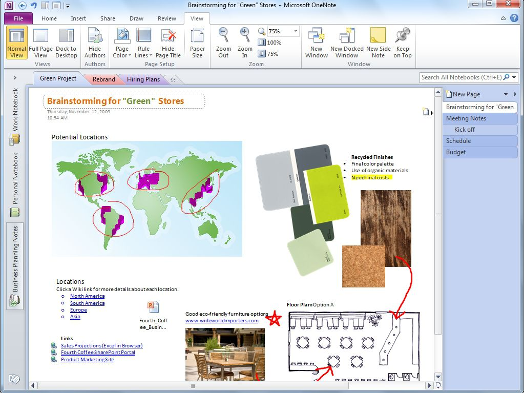Use Microsoft OneNote to Stay Organized