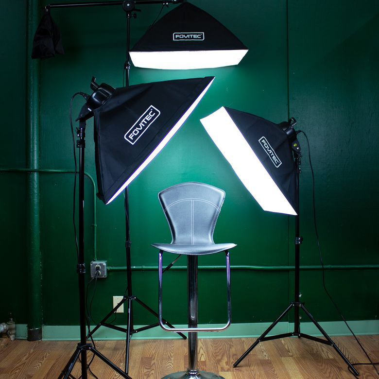Fovitec SPK10-037 Softbox Lighting Kit