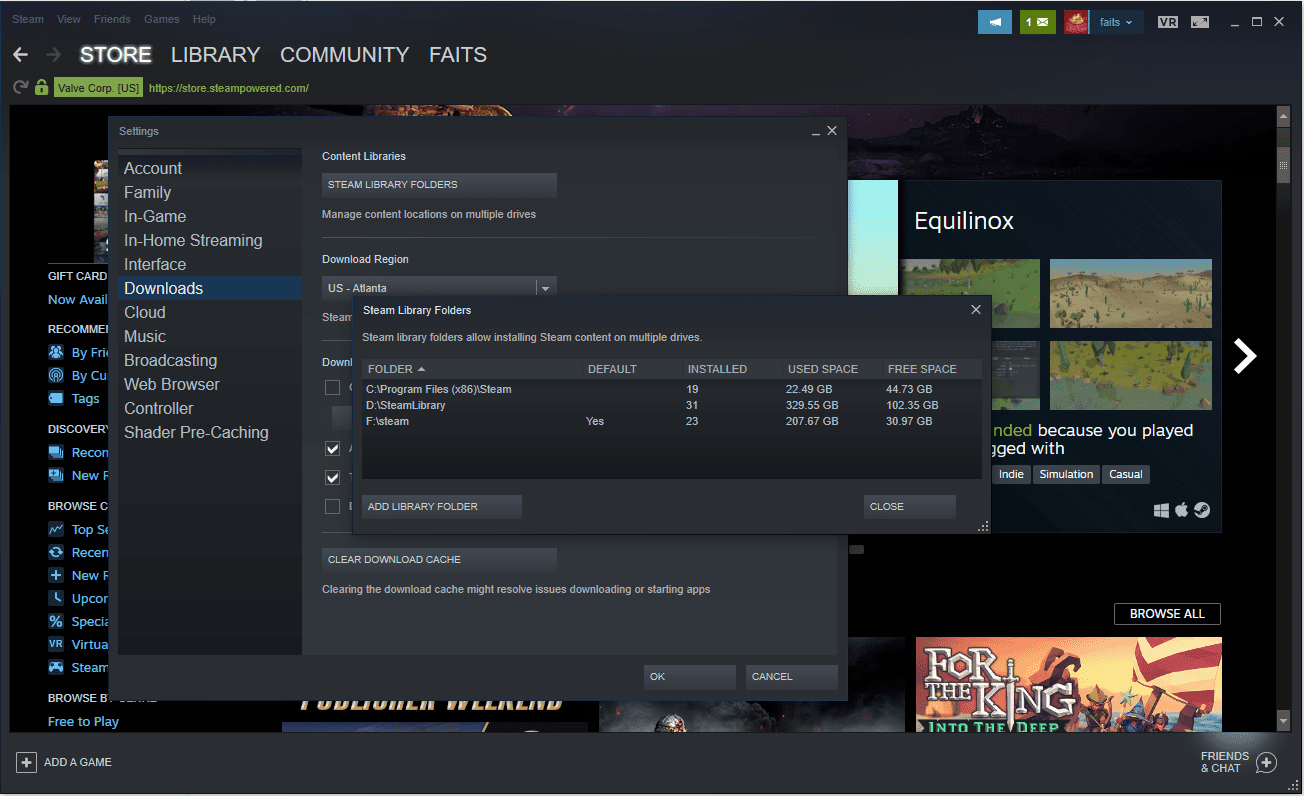 How to Move Steam Games to Another Drive