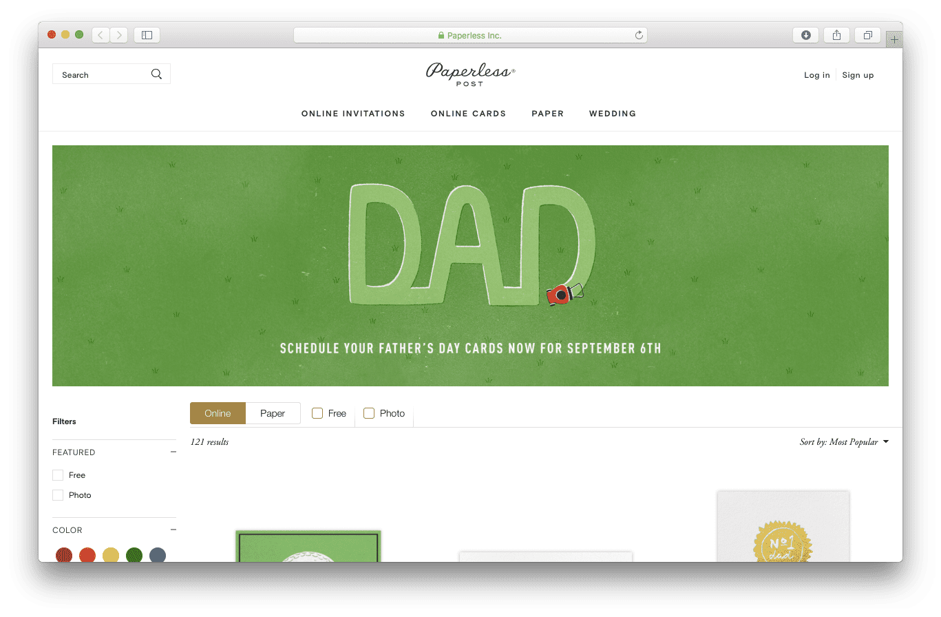 The Best 25 Fathers Day E Card Sites For 2018