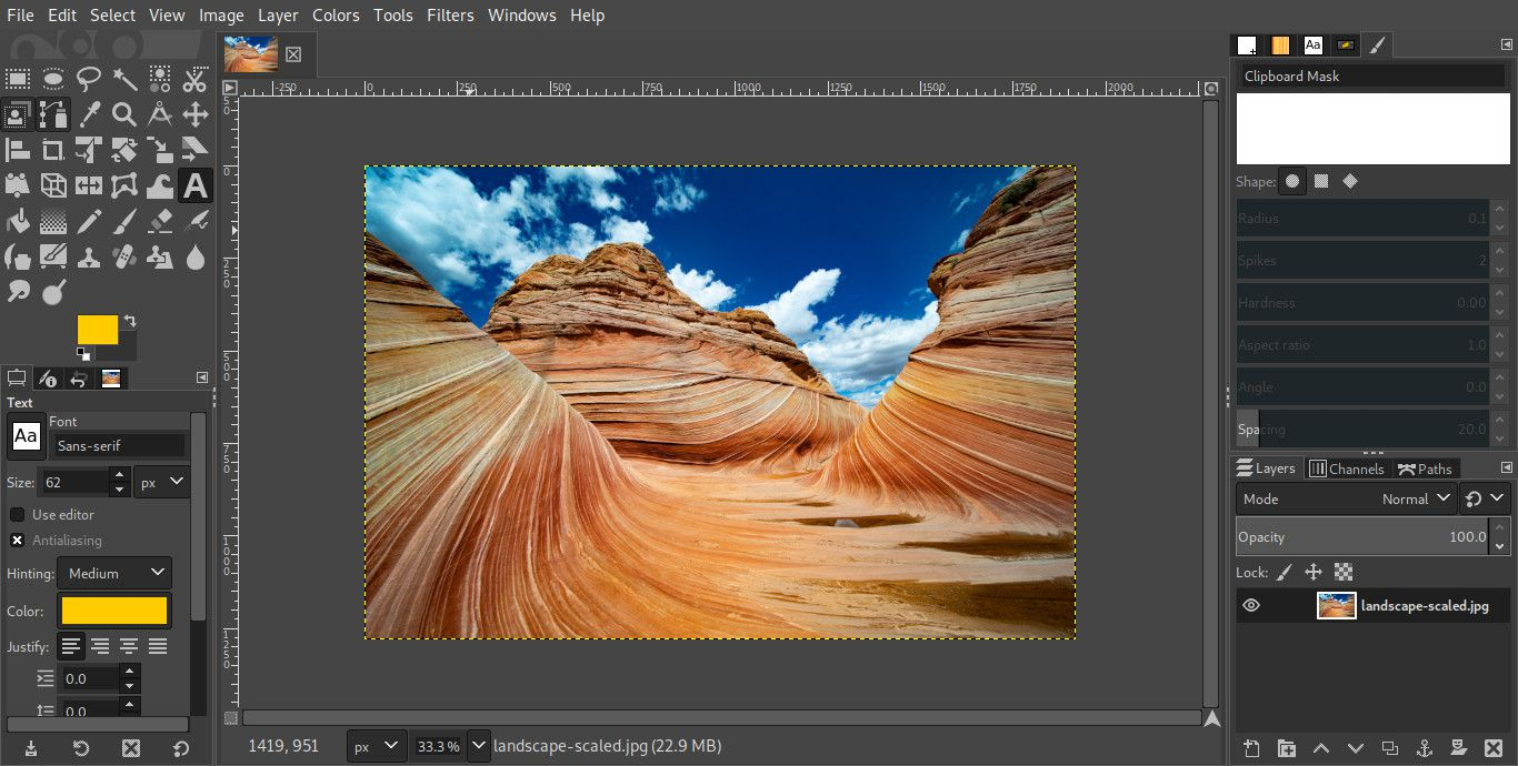 Use Layer Masks in GIMP to Edit Specific Areas