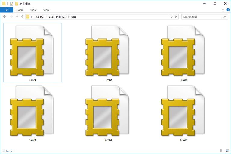 MHT Files