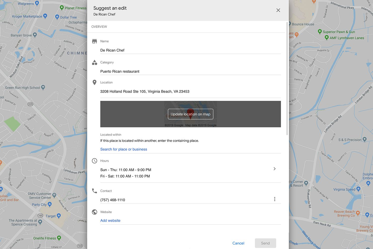 How to Edit a Location in Google Maps Google Map Location For Website on site plan for website, guest book for website, terms and conditions for website, privacy policy for website, about us for website,