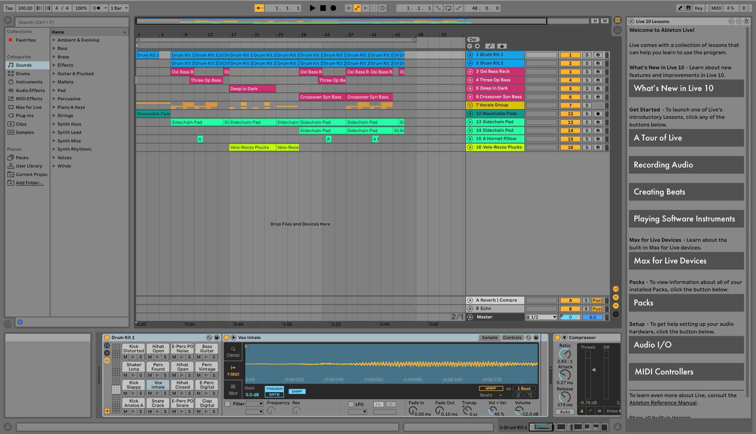 Ableton Live music production app