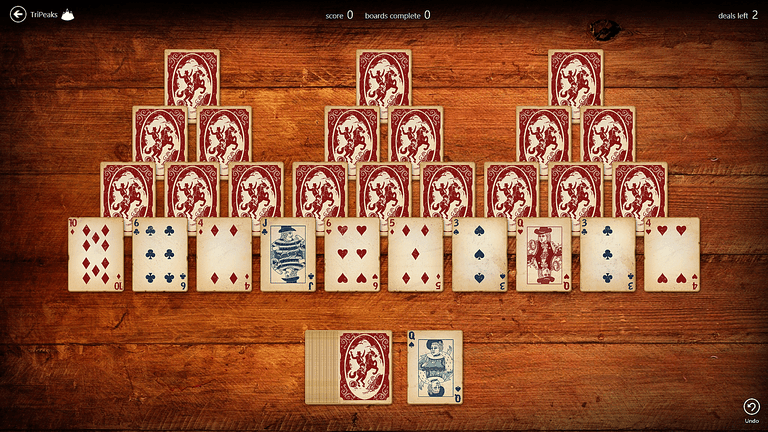 Microsoft Solitaire collection offers a bundle of great games.