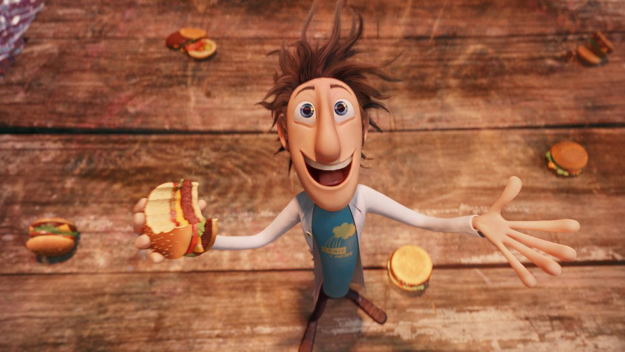 Cloudy with a Chance of Meatballs animated comedy