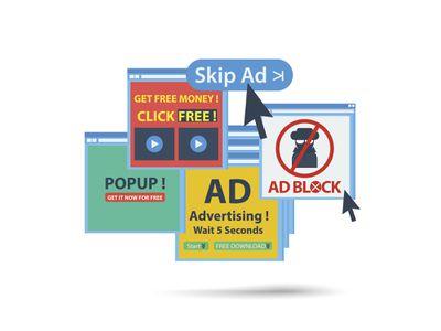 Animated pop-up ads