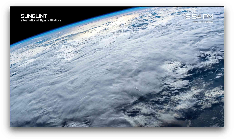 Earthlapse 4K app for Apple TV