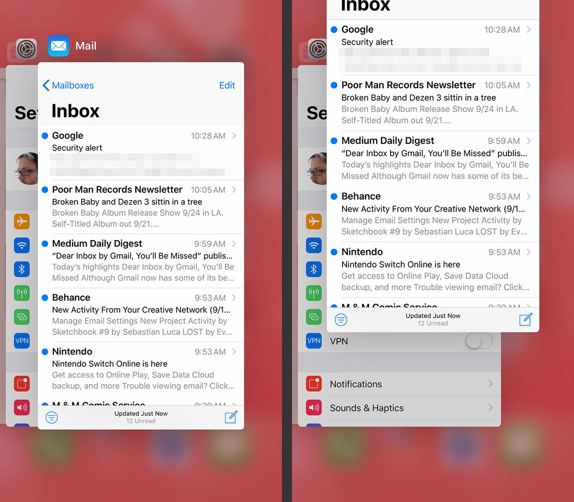 mail app wont download on iphone
