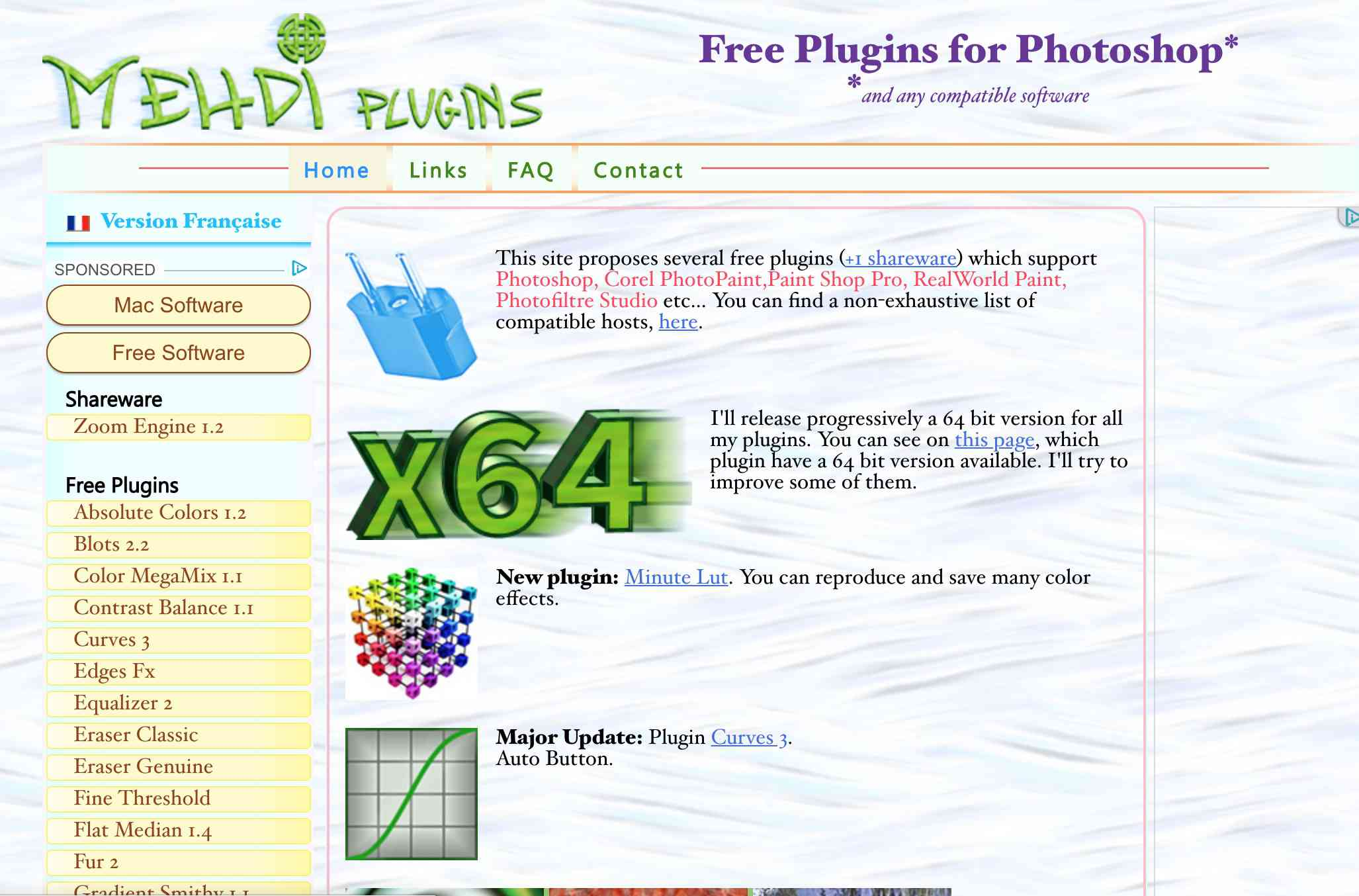 Hundreds of Free Photoshop Filters and Plugins