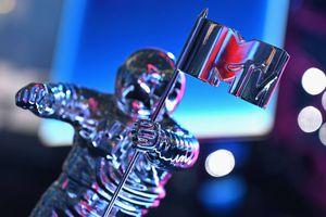 The VMA Moonman trophy.