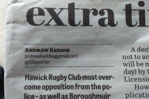 byline in newspaper