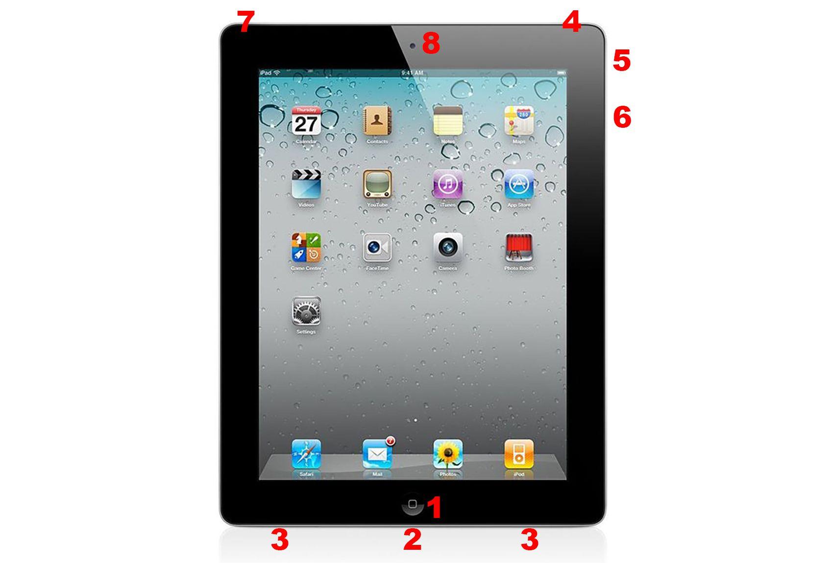Anatomy of the Apple iPad 2 Hardware Features