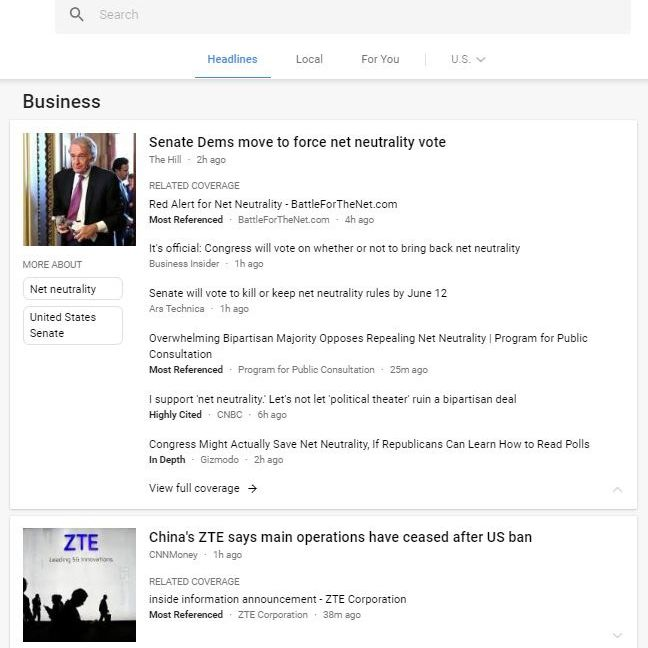 All About Google News