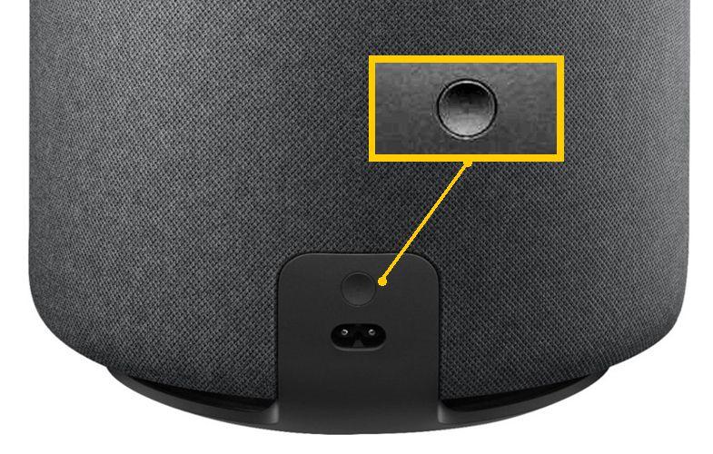 Amazon Echo Sub – Reset Button