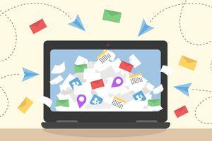 Information overload vector concept