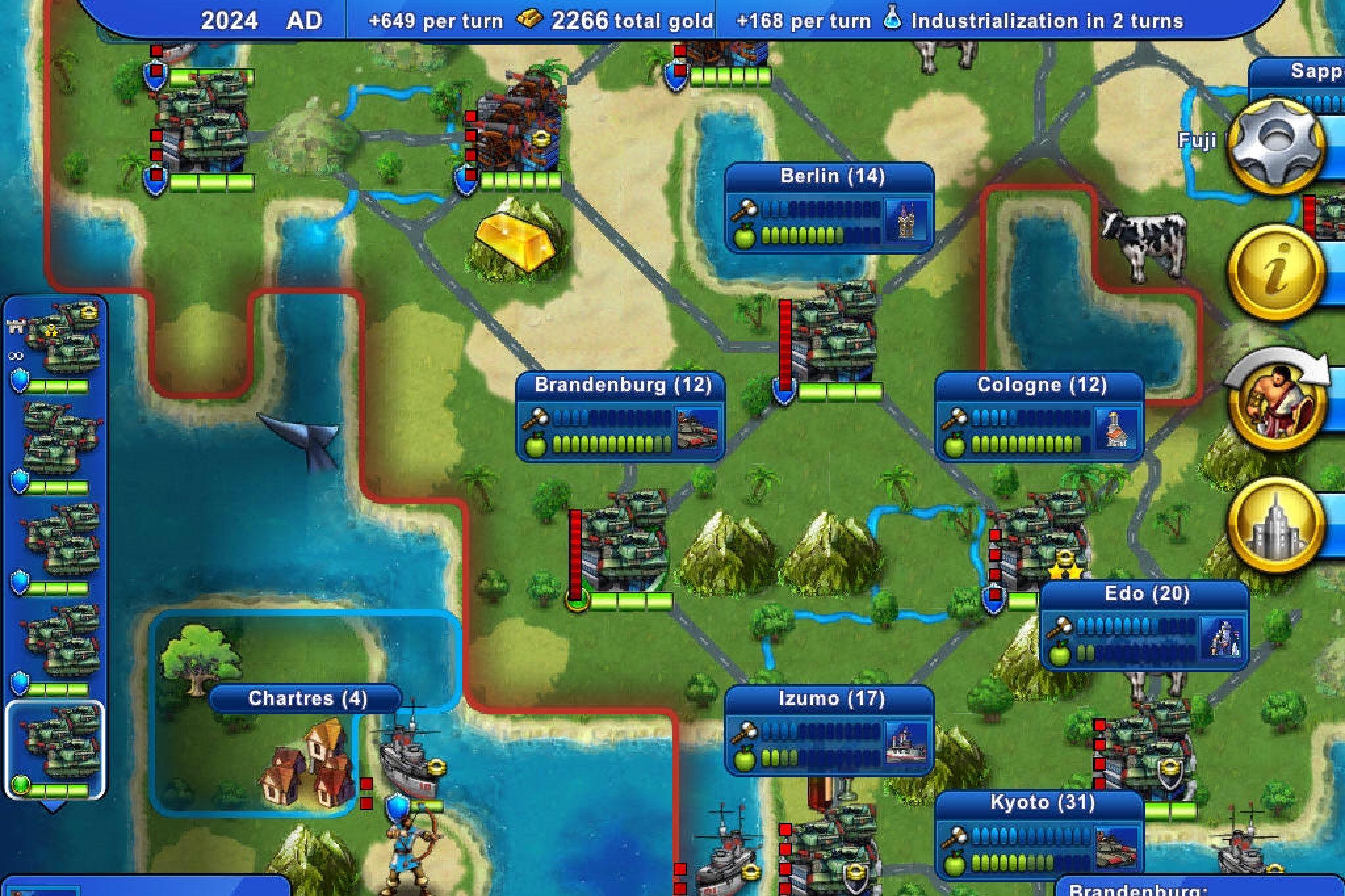 Civilization Revolution 2 appstore