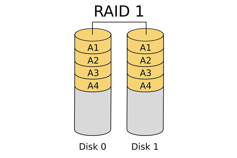 Raid 1 mirror diagram