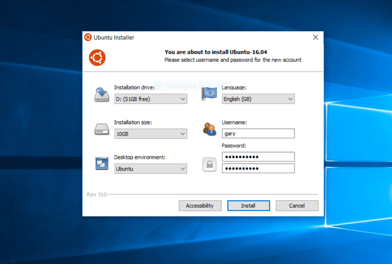 install ubuntu from usb windows 8