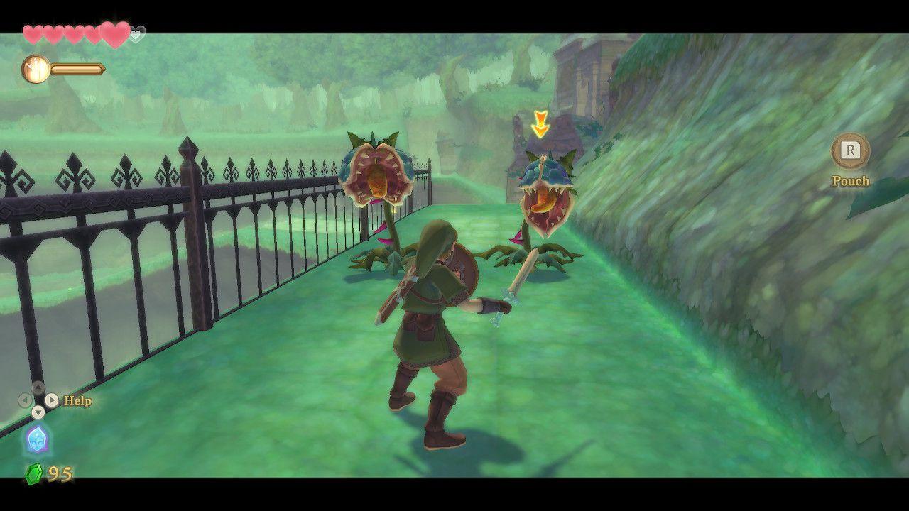 Screenshot from 'Legend of Zelda: Skyward Sword'