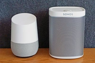 Google Home with Sonos Play:1 Speaker