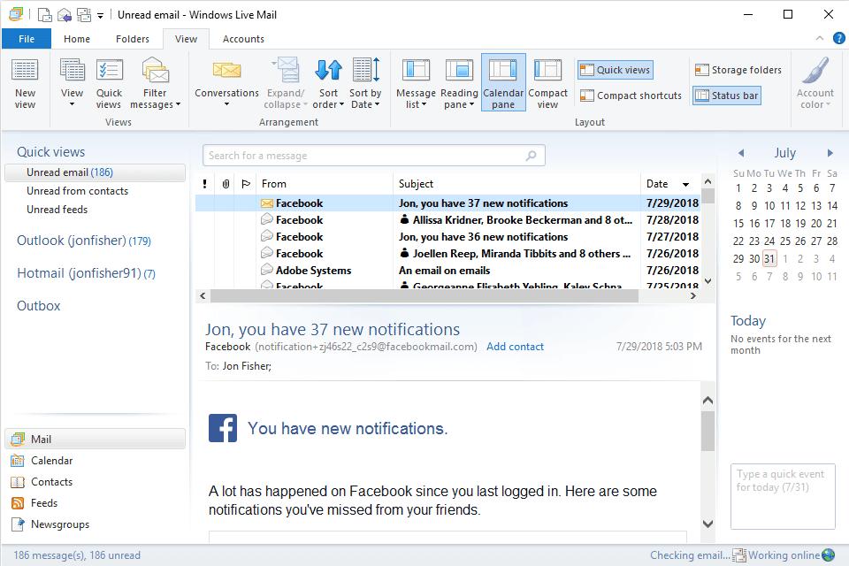 Windows Live Mail 2020 Deutsch
