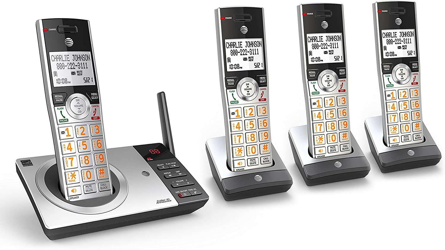 The AT&T DECT 6.0 phone system is expanable.