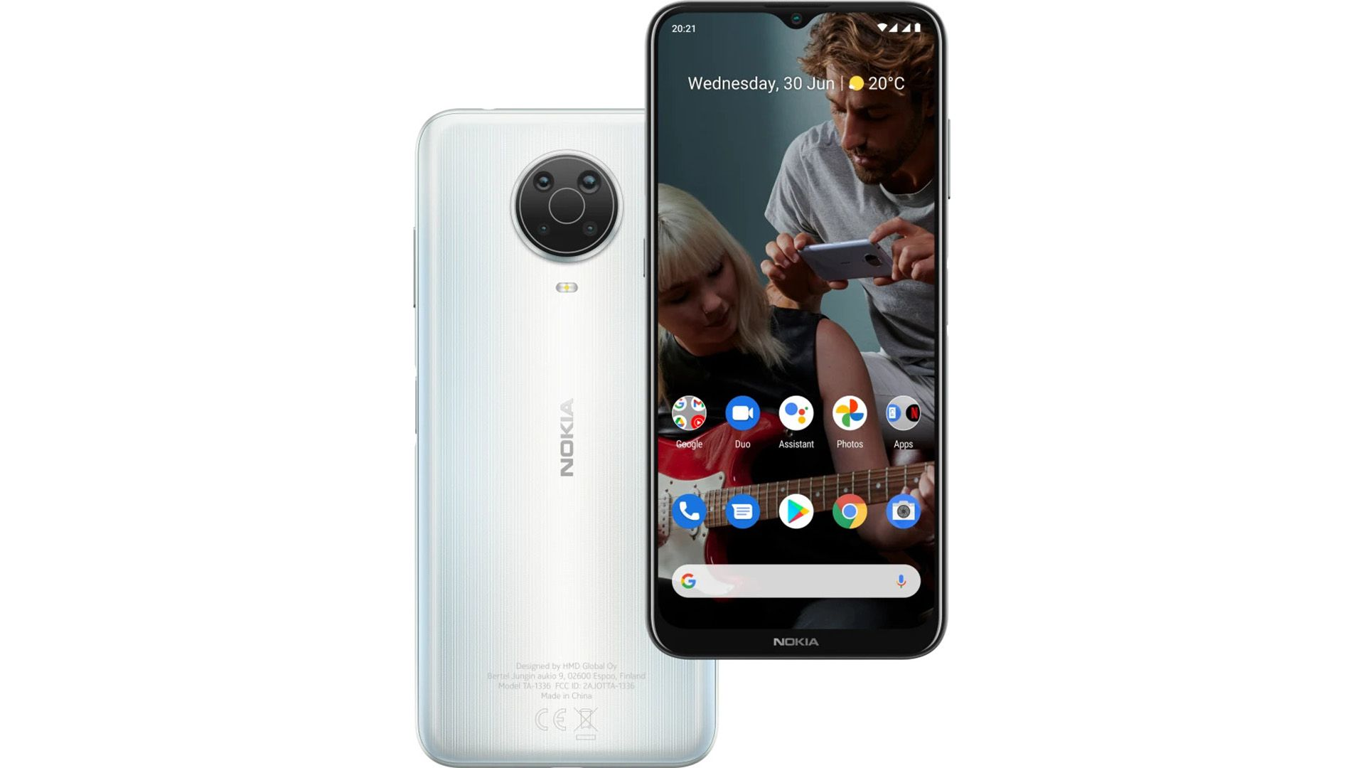 Nokia G20 android smartphone