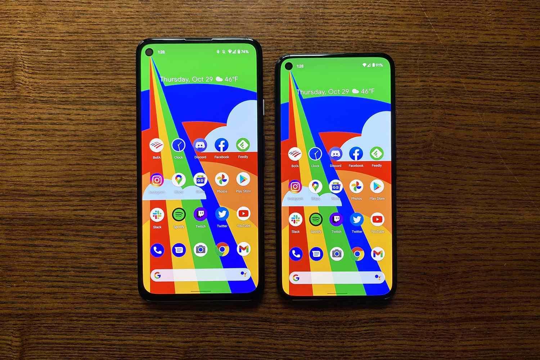 Pixel 5 vs. 4a 5G