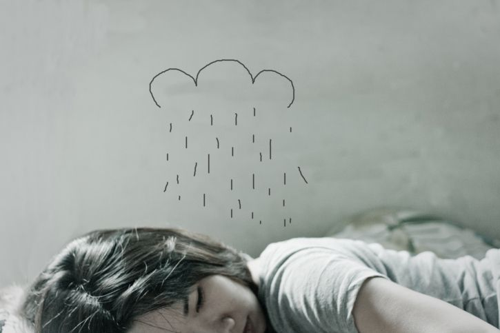 Sleeping Under Rain
