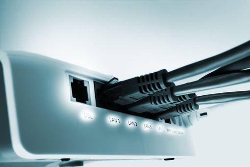An Ethernet bridge with an open DSL port