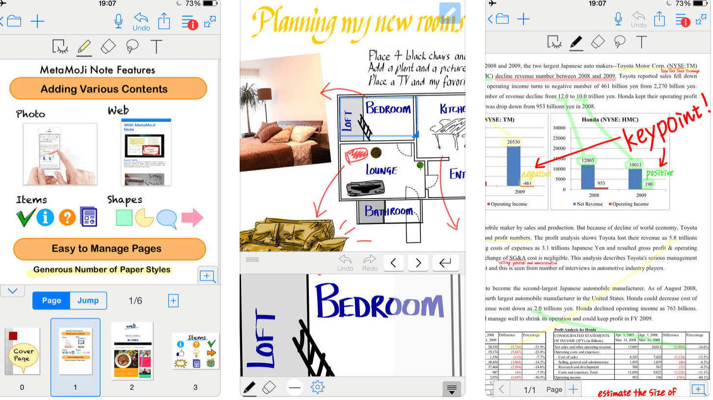 best note taking app for apple pencil free