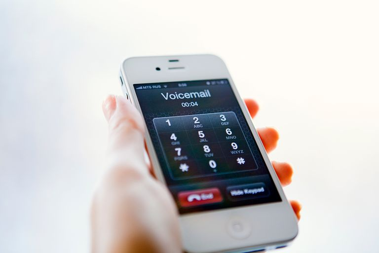 Voicemail on iPhone