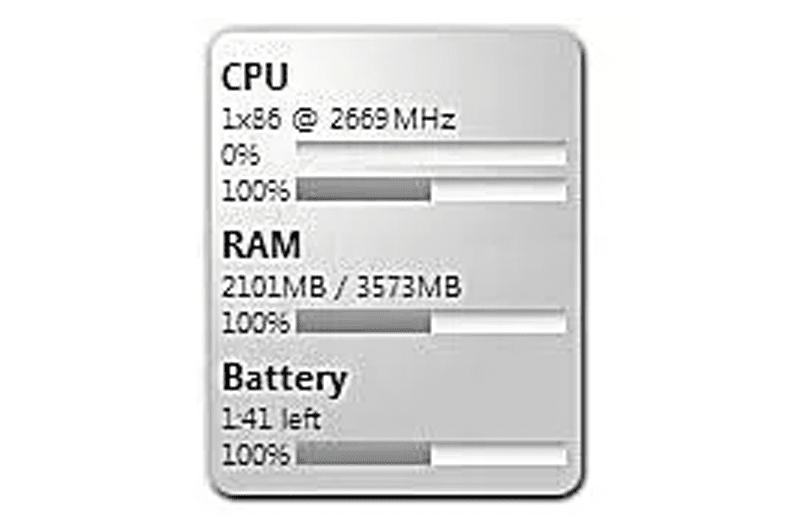 Memeter Windows gadget