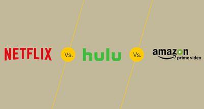 Netflix vs Hulu vs Amazon Prime Video