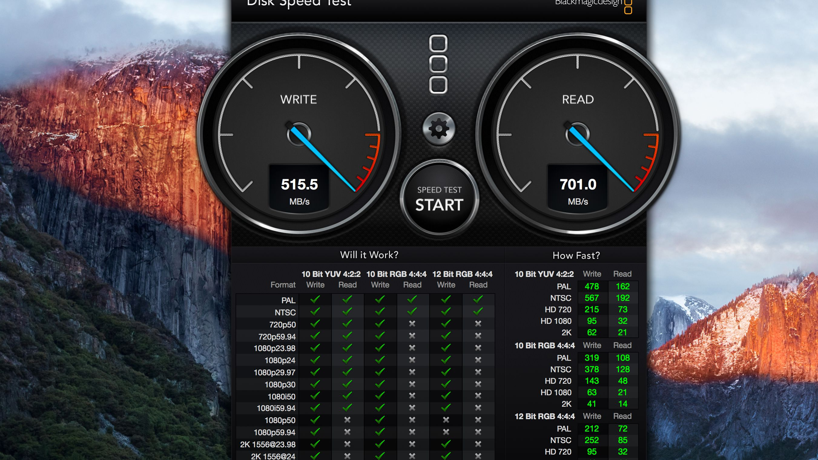 Blackmagic Disk Speed Test: How Fast Are Your Mac's Drives?