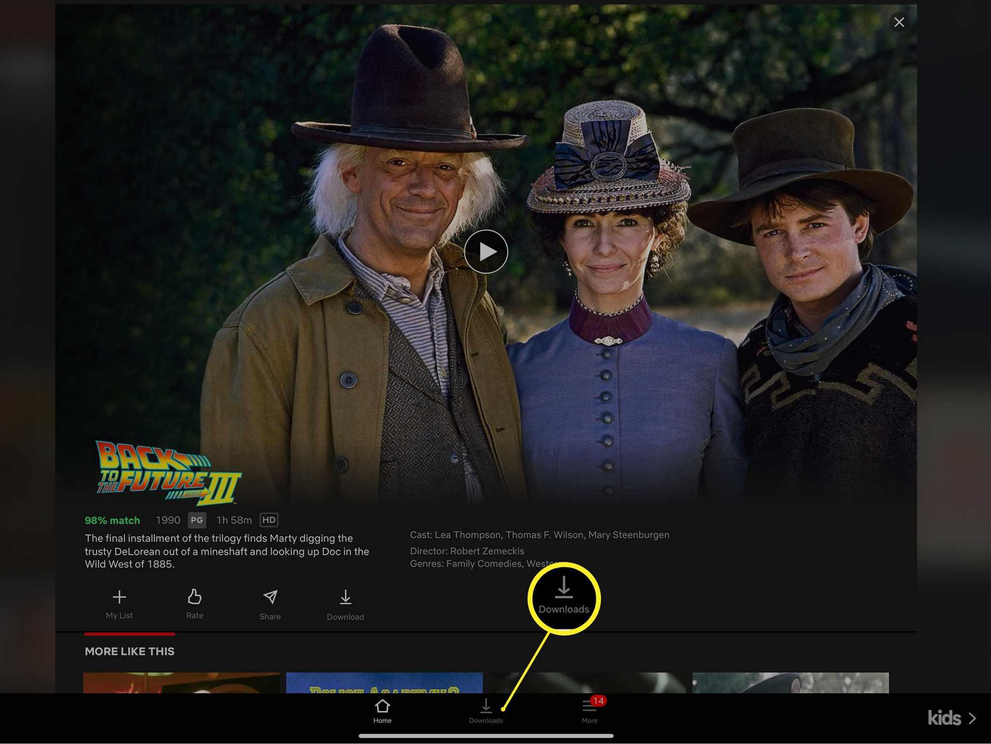 Netflix downloads link