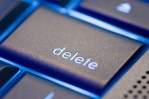 Delete computer keyboard key