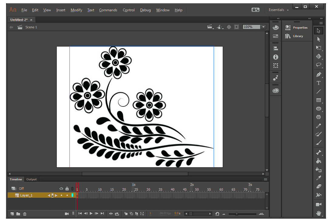 How to Zoom in Animate CC
