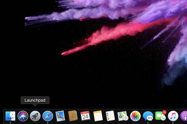 Launchpad on MacOS Dock